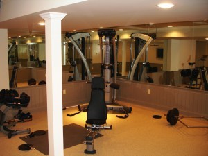 flooring material options for a home gym  toms river nj