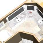 Master Bathroom Dollhouse Overview