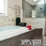 Soaking tub for a NJ bathroom remodel (1)