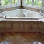 Soaking tub for a NJ bathroom remodel (15)