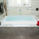 Soaking tub for a NJ bathroom remodel (16)