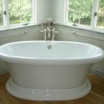 Soaking tub for a NJ bathroom remodel (5)