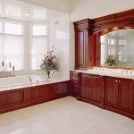 Soaking tub for a NJ bathroom remodel (7)
