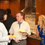 Wine and Cheese party in newly remodeled kitchen (7)