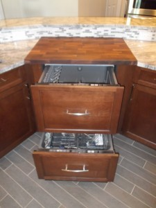 dishwasre drawers for kitchen remodel