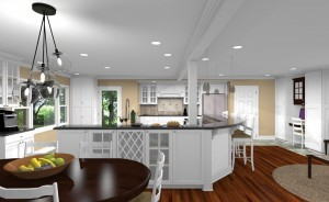 CAD for a Kitchen Remodel in Watchung NJ (2)