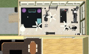 Exercise Room CAD (1)-Design Build Planners