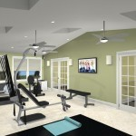 Exercise Room CAD (5)-Design Build Planners