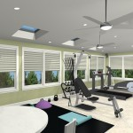 Exercise Room CAD (7)-Design Build Planners