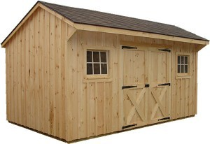 Pine Storage Shed-Design Build Planners