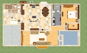 Remodeling Designs in Red Bank Dollhouse Overview-Design Build Planners
