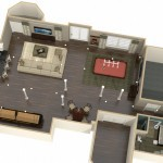 Dollhouse Overview of Plan 1 Project