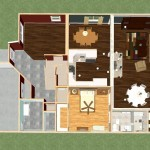Dollhouse Overview of a Remodel in East Brunswick New Jersey (2)