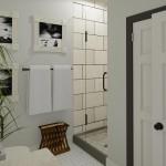Plan 2 CAD Remodeling Bathroom Shower