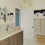 Plan 3 CAD for Remodeling Bathroom Vanity