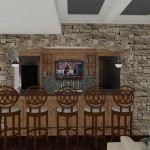 Plan 3 CAD for Remodeling Close up view kitchen