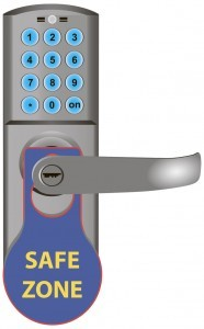 Safe Zone message
