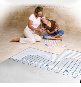 Heated Floor Options by the Design Build Planners