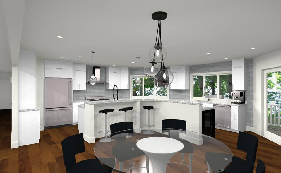 New Jersey House Plans and Kitchen Designs - Design Build Planners Rumson NJ area
