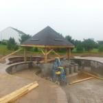 Outdoor Living Space in Burlington County NJ In Progress (9)-Design Build Planners