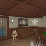 CAD of a Cigar Room in Monmouth County NJ (1)-Design Build Planners