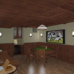 CAD of a Cigar Room in Monmouth County NJ (3)-Design Build Planners