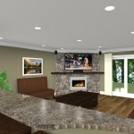 CAD of a Kitchen Remodel in New Brunswick NJ (1)-Design Build Planners