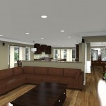 CAD of a Kitchen Remodel in New Brunswick NJ (5)-Design Build Planners