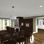CAD of a Kitchen Remodel in New Brunswick NJ (7)-Design Build Planners