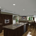CAD of a Kitchen Remodel in New Brunswick NJ (8)-Design Build Planners