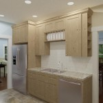CAD of a Small Kitchen Remodel in Bergen County New Jersey (2)-Plan 2-Design Build Planners