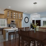 CAD of a Small Kitchen Remodel in Bergen County New Jersey (3)-Plan 1-Design Build Planners