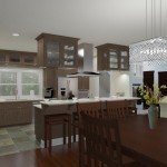CAD of a Small Kitchen Remodel in Bergen County New Jersey (3)-Plan 3-Design Build Planners