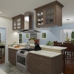 CAD of a Small Kitchen Remodel in Bergen County New Jersey (4)-Plan 3-Design Build Planners