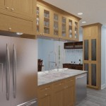 CAD of a Small Kitchen Remodel in Bergen County New Jersey (6)-Plan 1-Design Build Planners