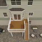 Computer Aided Design of an Exterior Remodel Raised Deck Terrace (1)-DesignBuildPros