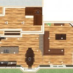 Dollhouse Overview of Kitchen Remodeling Project in New Brunswick New Jersey (3)-Design Build Planners