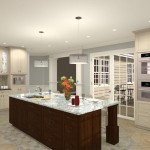 Gourmet Kitchen Addition Design in Monmouth New Jersey (3)-Design Build Planners