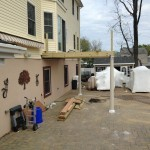 In Progress Picture of Exterior Remodel in Monmouth County NJ (1)-Design Build Planners