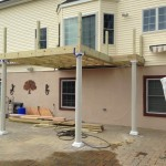 In Progress Picture of Exterior Remodel in Monmouth County NJ (2)-Design Build Planners
