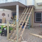 In Progress Picture of Exterior Remodel in Monmouth County NJ (3)-Design Build Planners