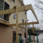In Progress Picture of Exterior Remodel in Monmouth County NJ (6)-Design Build Planners