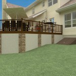 Plan 2 of an Outdoor Living Space in Monmouth County New Jersey (3)-Design Build Planners