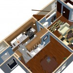 Plan One Dollhouse Overview of a Small Kitchen Remodel in Bergen County NJ (2)-Design Build Planners