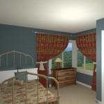 CAD of a Bedroom Remodel in West Orange New Jersey (1)-Desgin Build Pros
