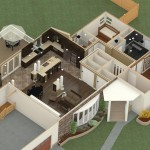 Dollhouse Overview of a Complete Remodel in Somerset NJ (2)-Design Build Planners