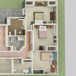 Dollhouse Overview of an Accessible Bedroom and Bathroom Addition (1)-Design Build Planners