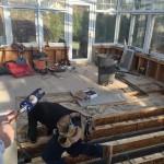 Exercise Room Remodel in Progress 12-30-2014 (1)-Design Build Planners