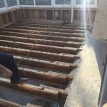 Exercise Room Remodel in Progress 12-30-2014 (4)-Design Build Planners