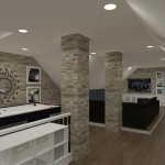 Computer Aided Design of an Attic in Totowa NJ (1)-Design Build Planners
